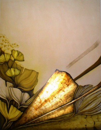 The Lodge exhibits local artists' works