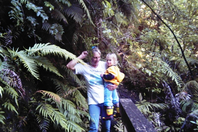 Tramping and hiking in the Hokianga bush